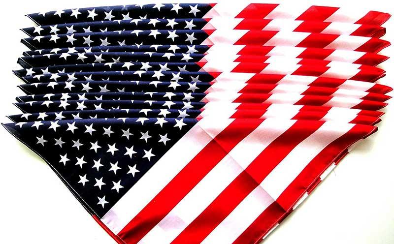 American Flag Bandana for Patriotism