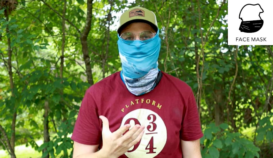 how to wear a neck gaiter