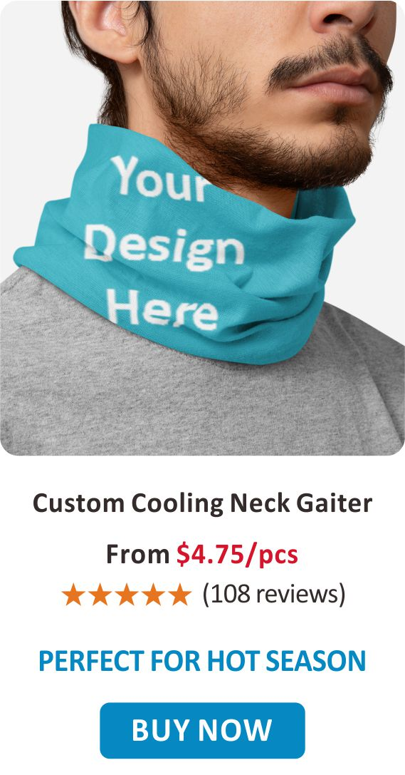 Custom Cooling Neck Gaiter