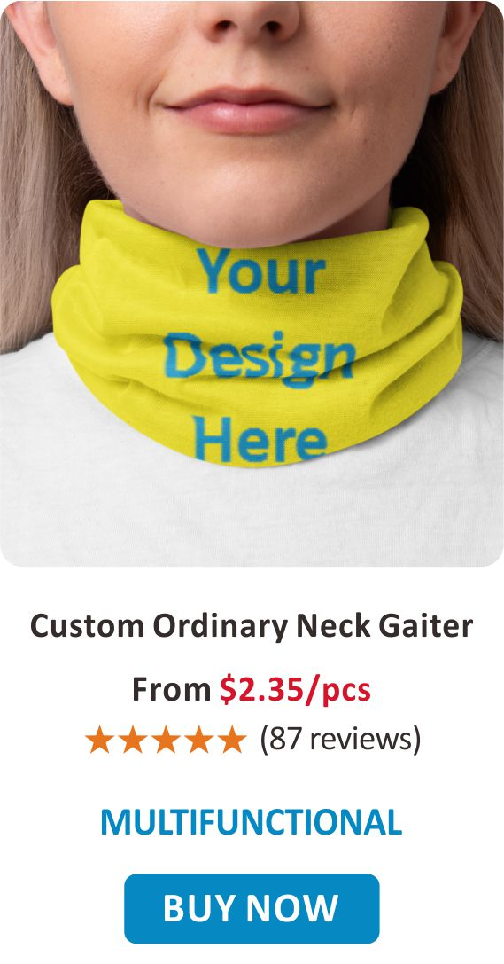 Custom Ordinary Neck Gaiter