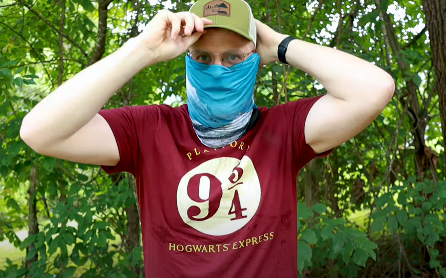 how does cooling neck gaiter work
