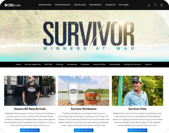 Where can I buy custom Survivor bandanas